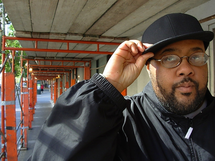 Gift of Gab of Blackalicious poses for UBO.  -- Photo by UBO Magazine Contributor Justin Herman