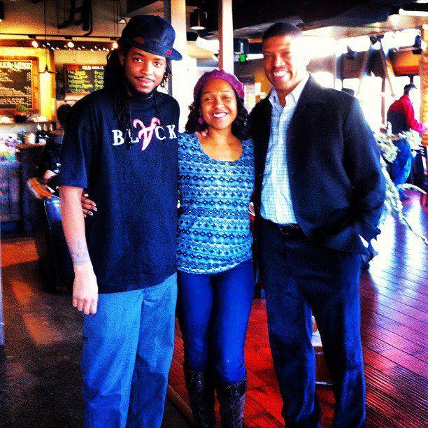 Jae Synth and former NBA All Star /Mayor of sacramento Kevin Johnson aka KJ