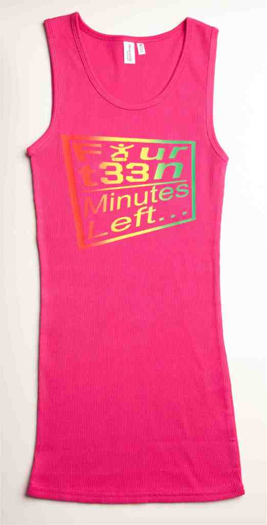 Rasta McSk8s Tank on Fuscia (2)