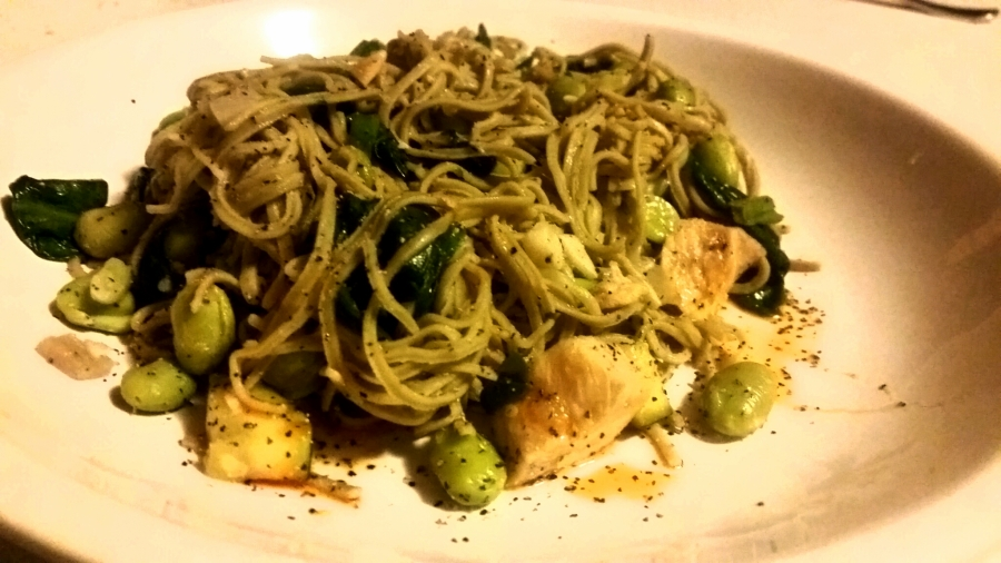 Enlightened Edamame Pasta
