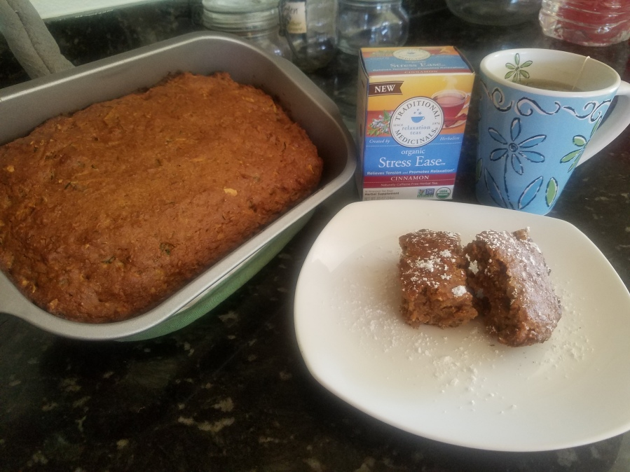 Healthful Vegan Banana-Zucchini Bread