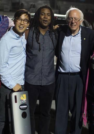 Bernie Sanders & Brian Rogers