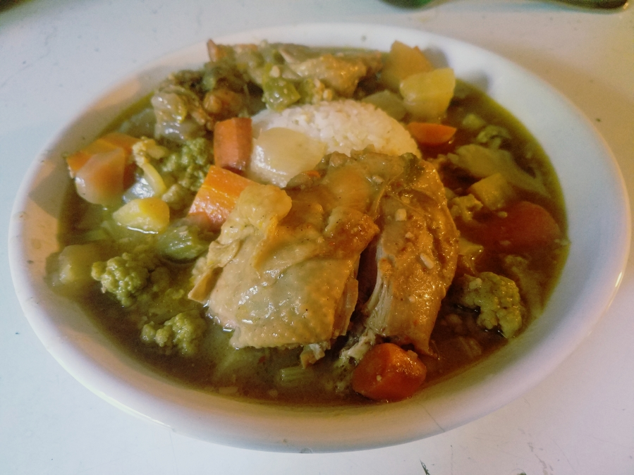 Jamaican Jerk Stew: Chicken and Veggie Where The Spice Is Right!